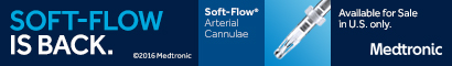 Medtronic - Arterial Cannulae is Back