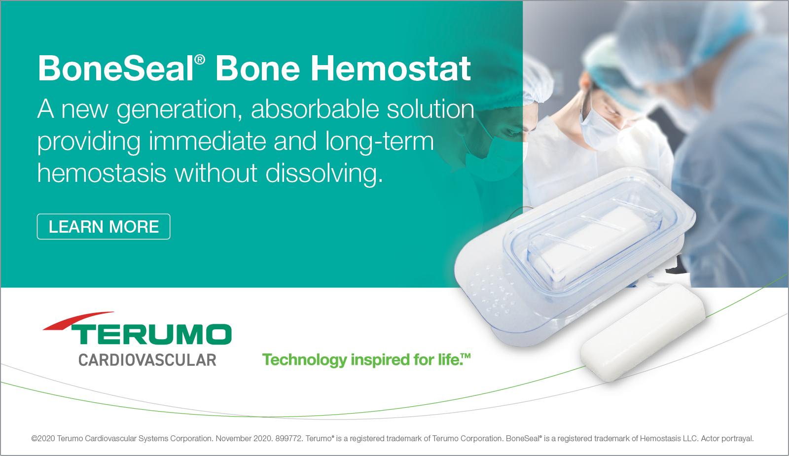 Terumo - BoneSeal Bone Hemostat