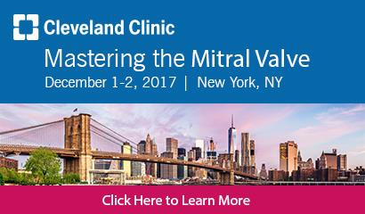 Cleveland Clinic - Mastering the Mitral Valve