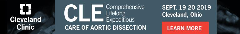 Cleveland Clinic - Care of Aortic Dissection Course 2019