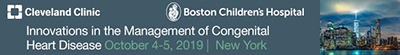 Cleveland Clinic - Innovations in the Management of Congenital Heart Disease 2019