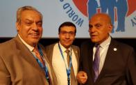 With Sir Magdy Yacoub and Dr Zohair Alhalees at 5th meeting of WSPCHS 2016