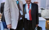 With Dr Saksena