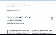 JACC editorial on off-pump vs. off-pump CABG