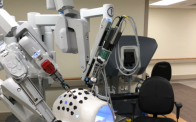 Robot simulator outside hybrid ORs