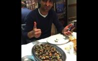Eating Percebes with Diego in La Coruna