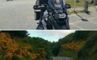 Semih Halezeroglu motorcycle in N.Zealand