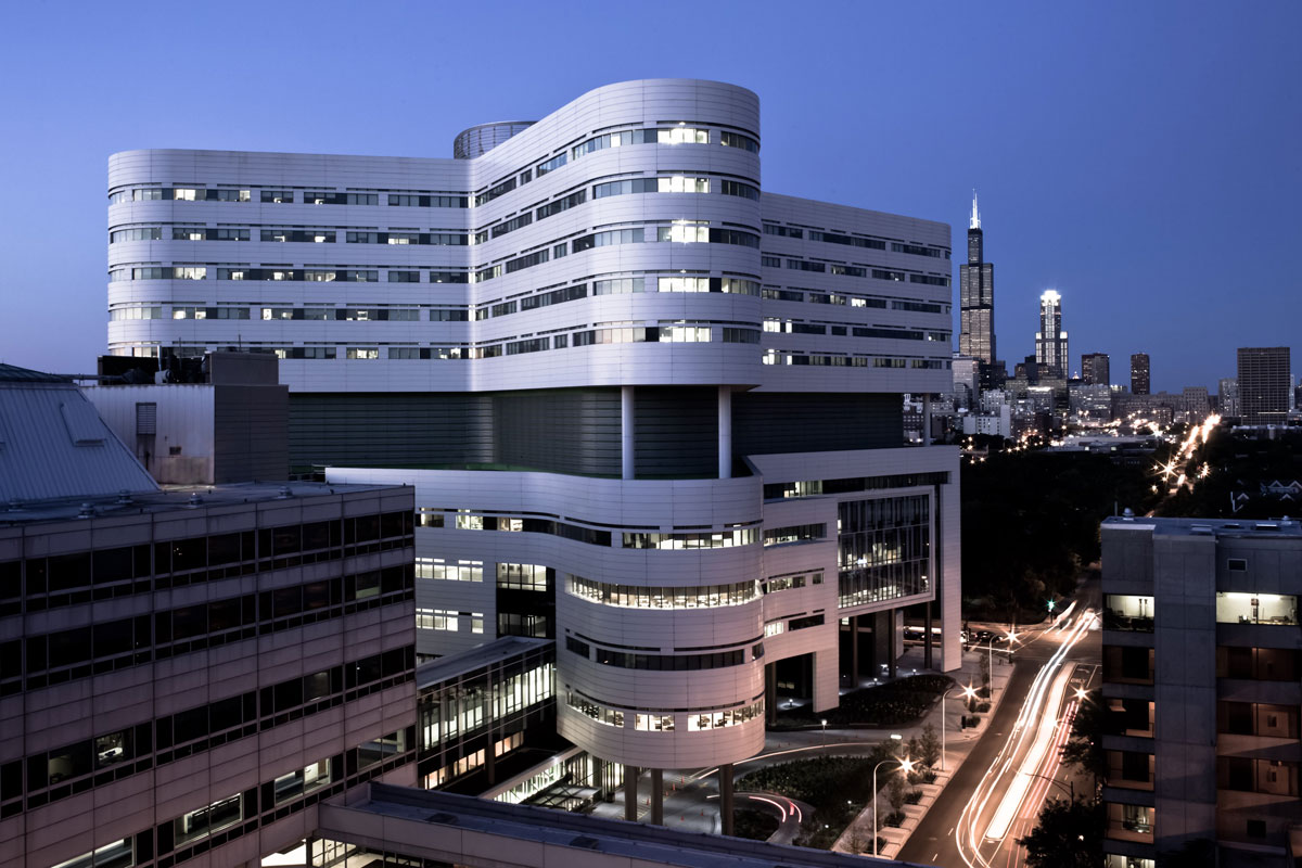 Rush University Hospital Chicago Good Design
