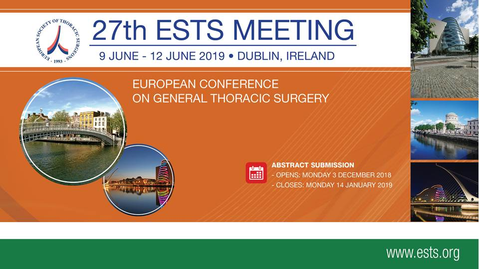 27th European Conference on General Thoracic Surgery | CTSNet